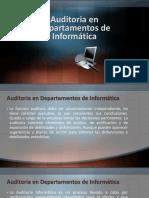 Auditoria en Departamentos de Informática