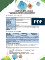 Guía 2 de Actividades y Rúbrica de Evaluación Paso 2. Reconocimiento de Enfermedades Virales