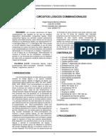 Diseño de Circuitos Logicos Combinacionales montacarga