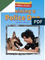 2.4.1 - Training a Police Dog
