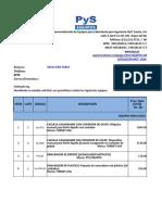 Cotizacion de Equipos de laboratorio de suelos
