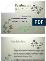 Proses Pembuatan Kertas Dan Pulp2