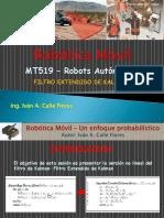 7. Robótica Probabilística Filtro Extendido de Kalman