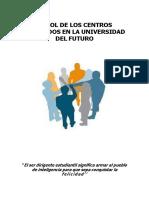 El Rol de Los Centros Federados en La Universidad Del Futuro