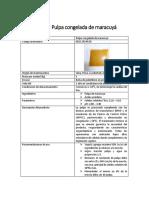 Ficha Técnica P. Maracuyá