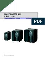 Siemens Micromaster420 Sp