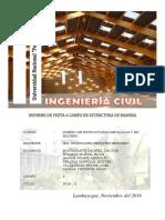 Estructura de Cobertura de Madera