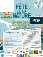 Programme Fête de la Nature Mocamana 2018
