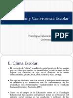 Clima Y Convivencia 2014