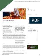 Quinua.pe, El Portal Que Busca Dar a Conocer Al Mundo Las Maravillosas Propiedades de La Quinua, Producto Originario de Los Andes