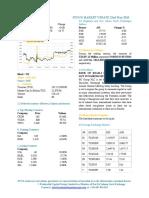 Market Update 22nd May 2018