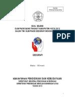 Soal Osk Geo 2013