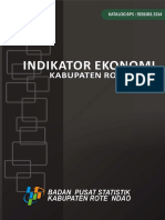 Indikator Ekonomi Kabupaten Rote Ndao 2013