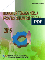 Indikator Tenaga Kerja Sulawesi Tengah 2015