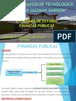 Diapositiva de Finanzas Publicas