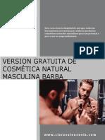 Clara Valenzuela Version Gratuita Manual Cosmética Natural Masculina Barba