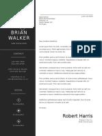 Letter_Minimal CV Resume 3pack 3