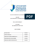Air Cond Full Project Report