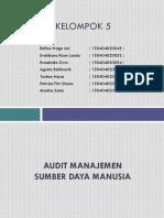 Ppt Audit Manajemen Sdm