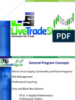 Automated Trading Programs by Todd Hanson PhD