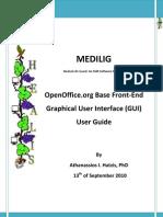 MEDILIG FE Open Office - User Guide