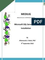 Medilig Msql - Installation