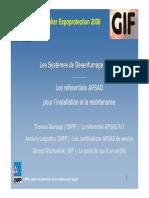 3- Le référentiel APSAD R17 pour l'installation et la maintenance_Nov. 2008.pdf