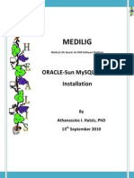 Medilig Mysql - Installation