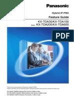KX-TDA100 - Feature Guide.pdf