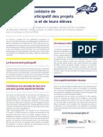 Document de Présentation TAP