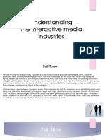 interactive media industries 1