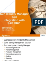 Sun Identity Manager and SAP GRC
