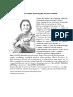 Biografia de Violeta Parra.