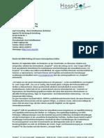 Pionier der MDK-Prüfung nun online
