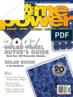 Home Power Magazine 121