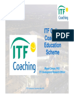 ITF Online Coaching Education Scheme Barcelona 2010