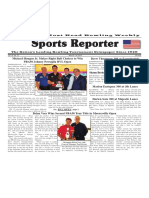 May 23 - 29, 2018  Sports Reporter