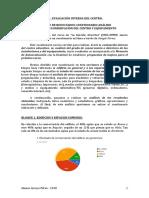 Informe resultados cuestionario análisis deterioro/conservación instalaciones y equipamiento centro educativo