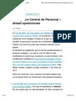 El Registro Central de Personal