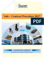 Sub-Contract Procedure 201720170424114636109