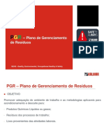 PGR – Plano de Gerenciamento de Resíduos