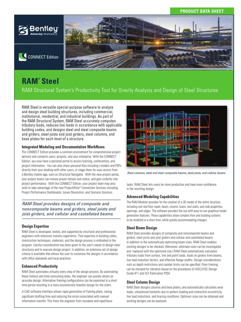 RAM Steel: RAM Structural System's Productivity Tool for