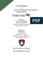An Internship Report