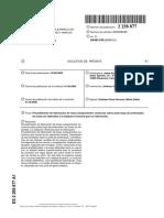 Patente de Placa Ceramica