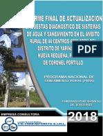 Informe Final sobre diagnostico de agua y saneamiento