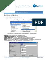 Manual SysAdmin - Programación Presupuestaria
