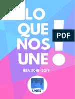 Plan de Trabajo - Unes Rea 2018-2019