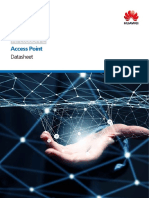Huawei AP2050DN-E Access Point Datasheet