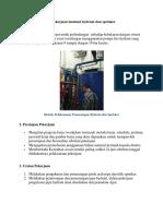 Metode Pelaksanaan Pekerjaan Instalasi Hydrant Dan Sprinker