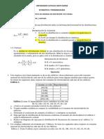UCSM PRACT Medidas de Dispersion
